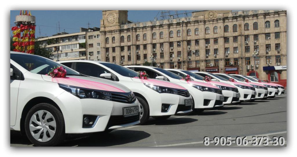 Заказ машин на свадьбу в москве недорого